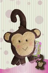 Mak (CoisaPano) Tags: animal handmade estrela artesanal craft felt gift macaco feltro rena anjo maternidade chaveiro lembrancinhas feitoamo coisapano