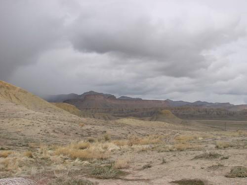 Utah landscape off I-70