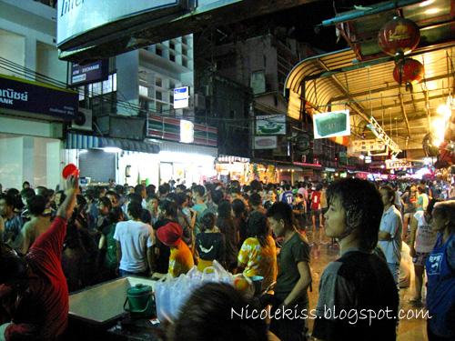 7-11 at phat phong street bangkok