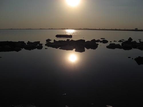 El sol se hizo agua