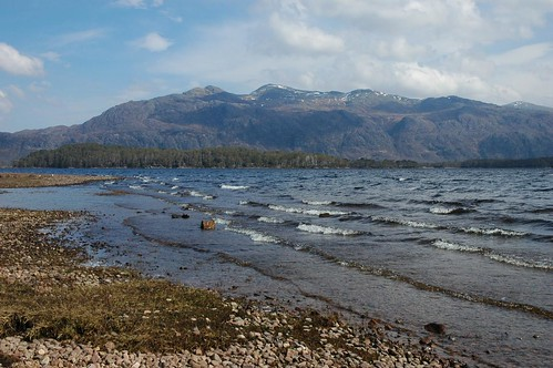 Beinn Airigh Charr across the north end of Loch Maree