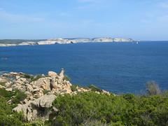 Sur le sentier du phare de Fenu : Bonifaciu et ses falaises