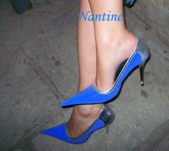 Blue - silver pumps 6 (Kwnstantina) Tags: sexy feet female fetish silver greek foot women toes pumps highheels legs sandals arches stiletto soles footfetish anklet sexylegs stileto stilletto sexyshoes heeled higharches feale highheeledpumps highheelspumps  womaninspikeheels bleustilletto
