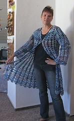 another lacy duster (Fluxx) Tags: others crochet craft cal duster dorischan lacyduster