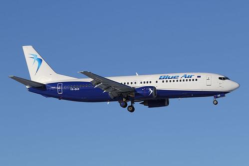 Blue Air Boeing 737-430 YR-BAS 170225 ARN