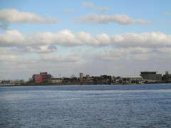 view toward Algiers, on ferry from New Orleans (shermaniac) Tags: mississippiriver neworleansla louisiana