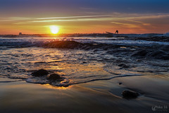 Sunset - Pôr do sol (Yako36) Tags: olympusomdem10 olympusmzuikodigitaled1442mmf3556iir portugal peniche baleal sea seascape beach mar praia paisagem surf sunset pôrdosol