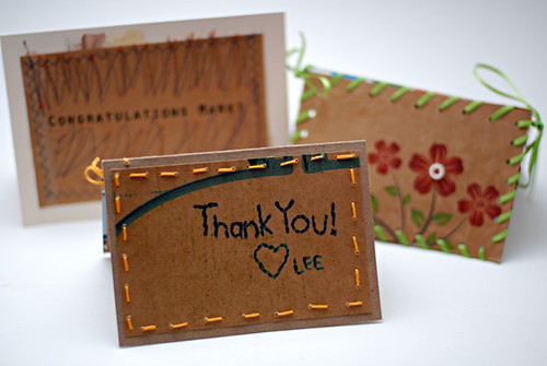 recycled greeting cards