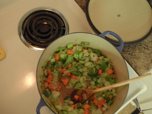 Soup Pot with Vegetables