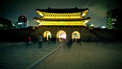 Geyongbukgung palace gate, Seoul (De Wet Moolman) Tags: night korea seoul geyongbukkungpalace lpcastles lpgate