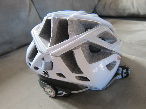 Louis Garneau helmet May 2011 rear