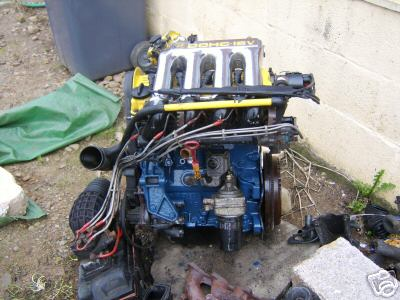 charlie's mk1 project - engine in 03/02 1525702068_45b55ca96f_o