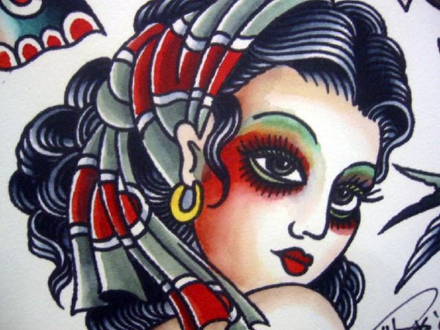 (Vintage Tattoo Flash Art 10 ) flash art tattoos