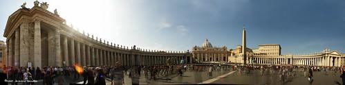 Piazza San Pietro y Basílica