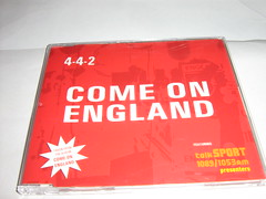 4-4-2 Feat. The Talksport Presenters. Come On England (sd1-3500) Tags: england music cd single come 442 presenters on the feat talksport comeonengland 442featthetalksportpresenterscomeonengland 442featthetalksportpresenters