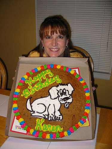 Puppy Cookie Cake