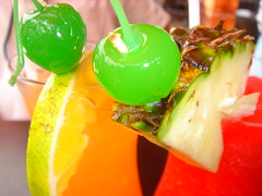 ~ boat drinks ~ (kelly-bell) Tags: red green yellow fruit drink drinks alcohol tropical garnish boatdrinks garnishment ysplix top20drinks