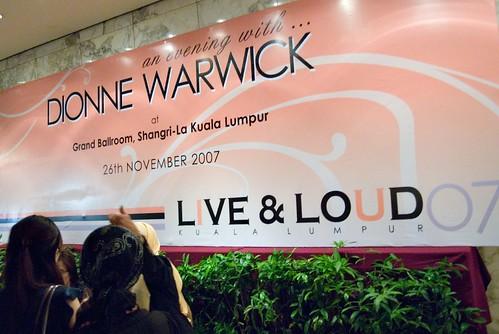 Dionne Warwick at Shangri-La KL