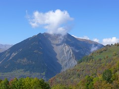 Mont Charvin fumant