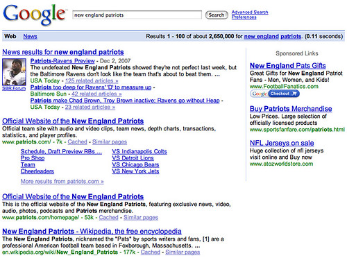 New England Patriots Search Result