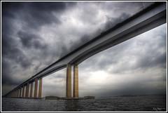 President Costa e Silva / Rio-Niteri -Bridge (Kaj Bjurman) Tags: bridge brazil brasil eos hdr kaj 2007 rioniteri cs3 photomatix presidentcostaesilvabridge 40d diamondclassphotographer bjurman