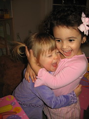 Madelyn and Sophie