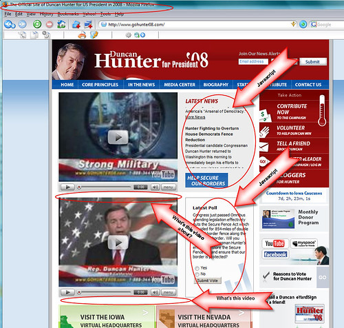 Duncan Hunter Front Page