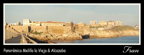 Panorámica Melilla la Vieja & Alcazaba