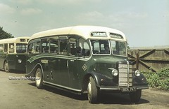 Green Bus Service's little Bedford OB (Lady Wulfrun) Tags: old bus green buses bedford coach carriage time no stage great 15 motors cannock ob gt 1980 1973 1950 services gbs stafforshire warstones warstone duple wyrley gca747
