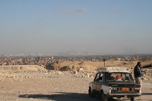 Taxi @ the Pyramids