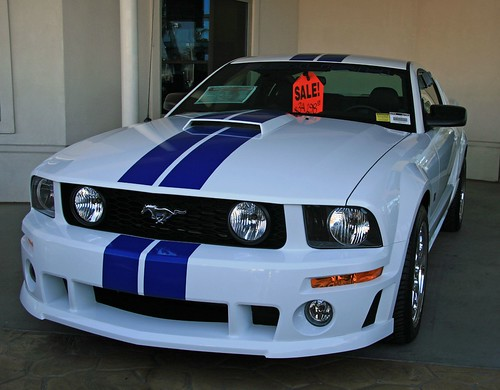Cool Ford Mustang Roush Stage 3