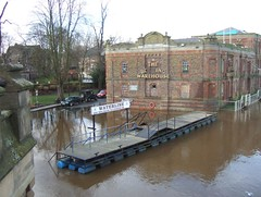 FLOODS - BONDING WAREHOUSE (CARLOS62) Tags: york river 2008 ouse floods bondingwarehouse carlos62 carlspencer carlos62b