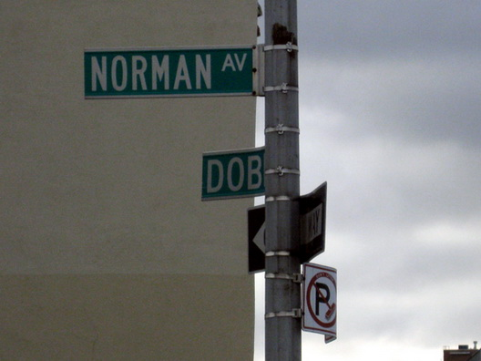 norman avenue and dobbin street