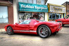 Ford GT (THEjdawg) Tags: auto cruise red ford car dream woodward gt anawesomeshot