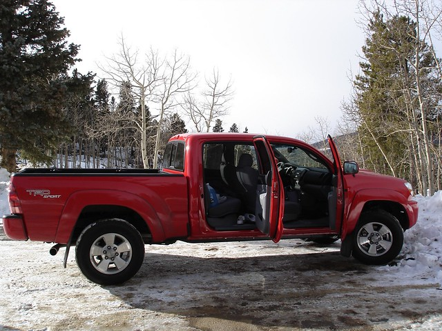 bed long cab double toyota tacoma