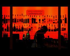 Red (Dreamer7112) Tags: red orange silhouette backlight night contraluz schweiz switzerland noche nikon europe suisse suiza bottles nacht zurich silhouettes backlit silueta zrich svizzera 2008 zuerich nuit siluetas d300 oerlikon zurigo dreamer7112 abigfave anawesomeshot zrichoerlikon nikond300 roseawards top30red worldphotodoc2008 cafepi n
