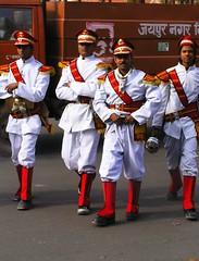 Marching band (tomato umlaut) Tags: india musicians band jaipur rajasthan