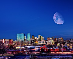 moonset two (@!ex) Tags: longexposure urban moon night america colorado denver planet hdr colefax k10d pentaxk10d alexbenison