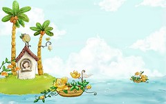 Vector_summer_illustration_ViewIllustrator_1012 (bachlonghoaianh) Tags: summer cute art beautiful illustration scenery graphic innocent lovely vector dethuong dangyeu ngaytho