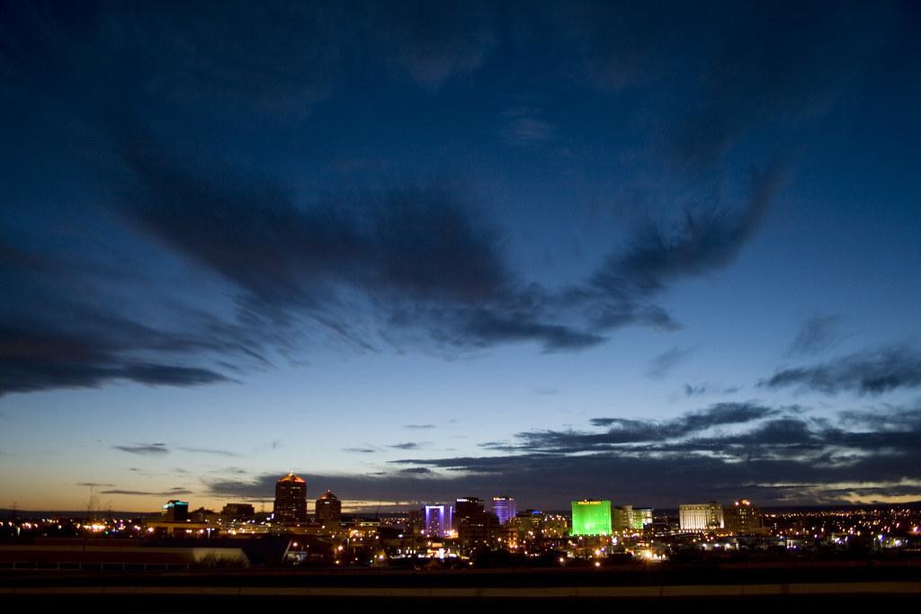Albuquerque @ sunset