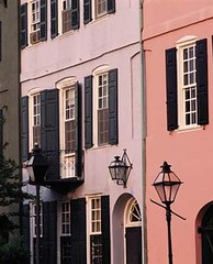 row houses in Charleston