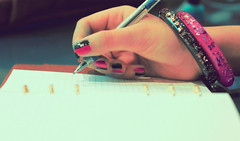 I Wanna be.. (Jadore Allure) Tags: writing louis diary nail polish funky vuitton lv allure bangles jadore aplusphoto
