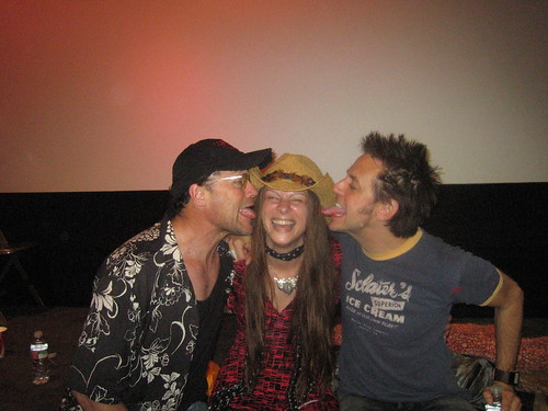 Rooker, Me, Gunn, & some tongue!