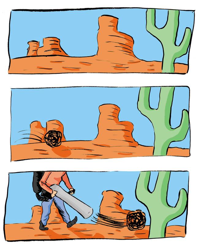 Desert strom