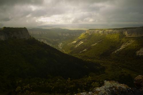 Mountains rain