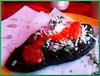 Rico Tlacoyito (Shrimaitreya) Tags: méxico corn comida mexicanfood delicious queso salsa popular crema maiz haba nopalitos chilito tlacoyo frijol requeson