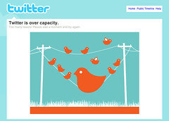 "My design for Twitter's ""over capacity&qu..."