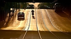 Motorcycle (Frank Gab&Tor) Tags: toronto sunrise motorcycle torontostreetcandid mmmilikeit gerrardbroadview
