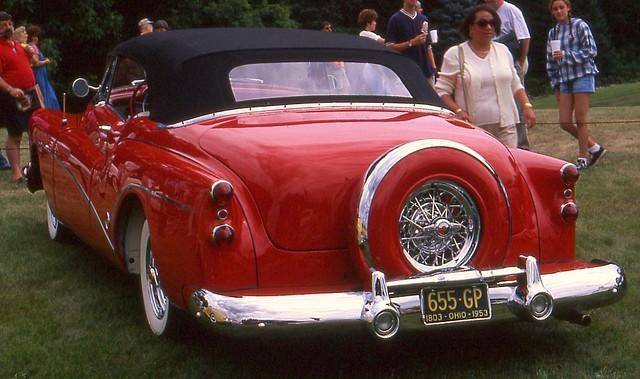 buick convertible skylark 1953 meadowbrookconcours1997 ©richardspiegelmancarphoto