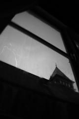 The church is DOOMED !!! (Den=) Tags: sky tower church window netherlands dutch amsterdam toren mosque lightning lucht kerk raam moskee bliksem